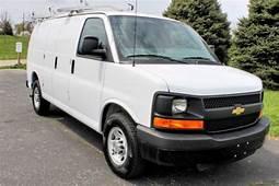 Buy Used 2012 Chevrolet Express 2500 Cargo Work Van In