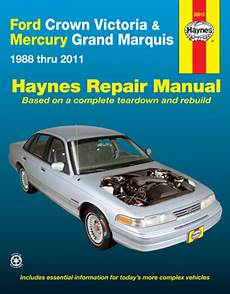 car repair manuals download 2003 mercury grand marquis instrument cluster all ford crown victoria parts price compare