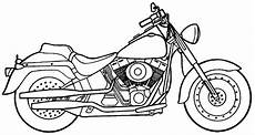 motorbike coloring pages to and print for free