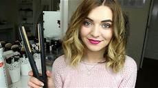 How To Curl Medium Length Hair With Straighteners