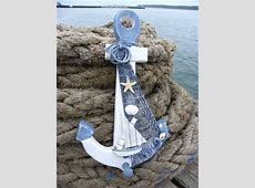 Rustic decorative items for a nautical home in the UK. Sea