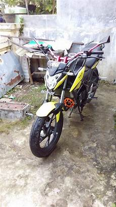 Modifikasi Cb150r Sederhana by Modifikasi All New Honda Cb150r Sederhana Tapi Gagah