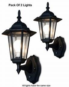 of 2 outdoor wall lighting systems for dusk to dawn
