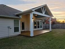 covered porch addition in pflugerville tx shows archadeck of does whatever it takes to