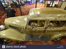The Car That Bonnie And Clyde Were Shot In Stock Photo
