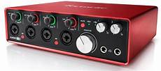 Focusrite 18i8 2nd Usb Audio Interface Zzounds