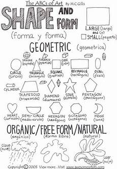 nature elements worksheets free 15091 lesson worksheets shape and form geometric and organic free form elements of