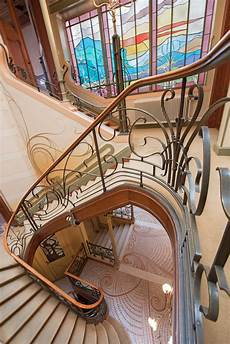 jugendstil innenarchitektur treppe tour the best in nouveau and deco architecture in