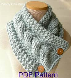 Strickmuster Schal Lochmuster - windycityknits knit cable cowl scarf pattern pdf
