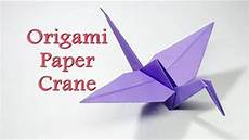how to make origami crane flapping crane easy origami