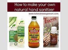 making hand sanitizer at home