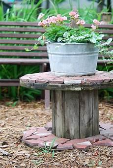 Kabeltrommel Holz Deko - let s stay spool tables