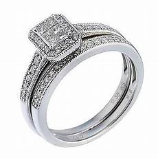 wedding rings samuel jewellers 9ct white gold half carat diamond bridal ring h samuel