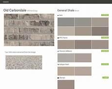 old carbondale white gray brick general shale behr ppg paints sherwin williams valspar