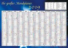 der gro 223 e mondkalender 2019 kalender bei weltbild de