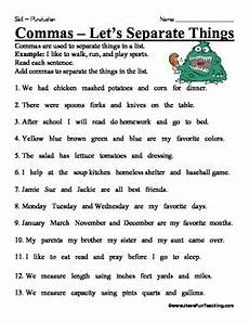 worksheet use of commas comma worksheet by have fun teaching teachers pay teachers