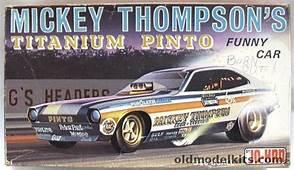 Jo Han 1/25 Mickey Thompsons Titanium Pinto Funny Car C