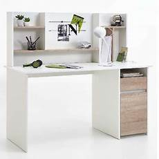 calgary home office furniture calgary white and oak home office desk with hutch and