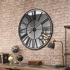 oversized skeleton wall clock 100cm mo s