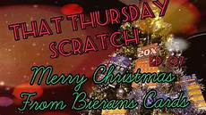 merry christmas 163 2 million blue scratch card and more bierans cards youtube