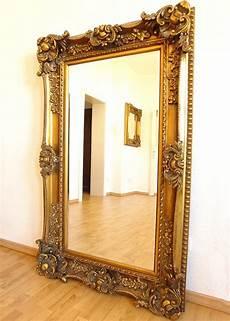 spiegel mit goldrahmen wandspiegel ca 156cm antik gold rahmen spiegel superlative