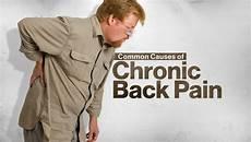 common causes of chronic back progressive