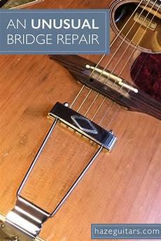 how to fix a guitar bridge acoustic guitar bridge repair acoustic guitar guitar acoustic