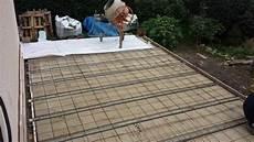 comment r 233 aliser une fondation et une terrasse en b 233 ton