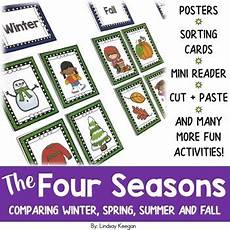 seasons worksheets cut and paste 14760 the four seasons winter summer and fall by lindsay keegan