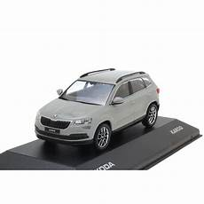 Skoda Karoq 1 43 Stahl Grau 5a7099300 F7a Modellauto