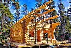 luxurious log cabin in the woods american log crafters