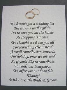 Poem Asking For Money As Wedding Gift