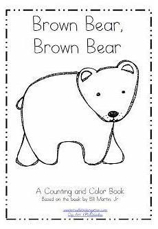 at my week plus a freebie brown book bears preschool kindergarten freebies