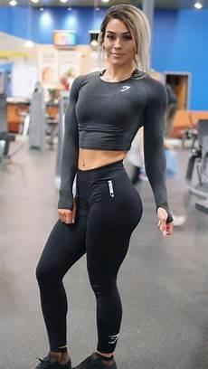 gymshark female fitness pin on motivation