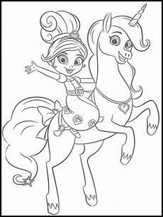 Ausmalbild Ritter Prinzessin Ausmalbilder Prinzessin Nella Zeichnen Und F 228 Rben