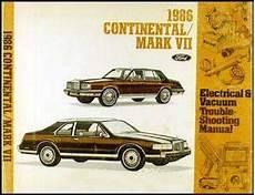 car repair manuals online pdf 1986 lincoln continental head up display 1986 lincoln auto repair manuals