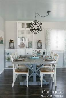 Home Decor Ideas For Dining Room by Simple Coastal Inspired Tablescape Our House Now A Home