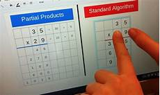 standard algorithm division 4th grade worksheets 6698 fourth grade lesson partial products standard algorithm part 1