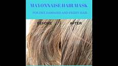 best hair masks for dry damaged hair mayonnaise hair mask for dry damaged and frizzy hair youtube
