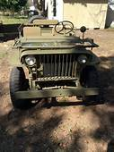 Classic Ww2 Willys Mb Slat Grill Jeep For Sale Detailed