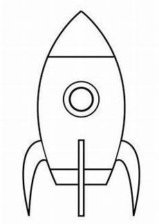 Malvorlagen Rakete Weltraum Und Musik Ganz Einfache Rakete Ausmalbild Kostenlose Ausmalbilder