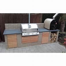 Outdoor Küche Holz - outdoork 252 che mit napoleon grill und valoriani pizzaofen