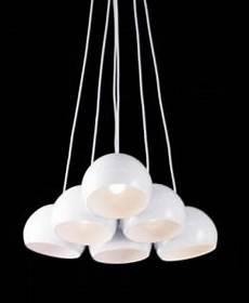 Pendelleuchte Weiß Glas - pendelleuchte metall glas wei 223 perlen kaufen bei