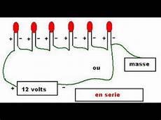comment brancher les leds en serie avec les switches
