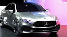 mercedes classe 2018 mercedes concept a driving world premiere new