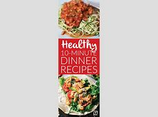 Healthy 10 Minute Dinner Recipes   Delish   Healthy dinner