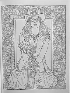 creative haven steunk fashions coloring book adult coloring coloring books coloring