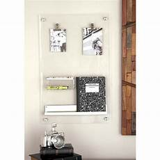 memo board silver acrylic memo board 56993 the home depot