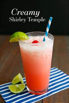 creamy shirley temple