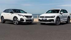2017 Peugeot 3008 Vs 2017 Volkswagen Tiguan
